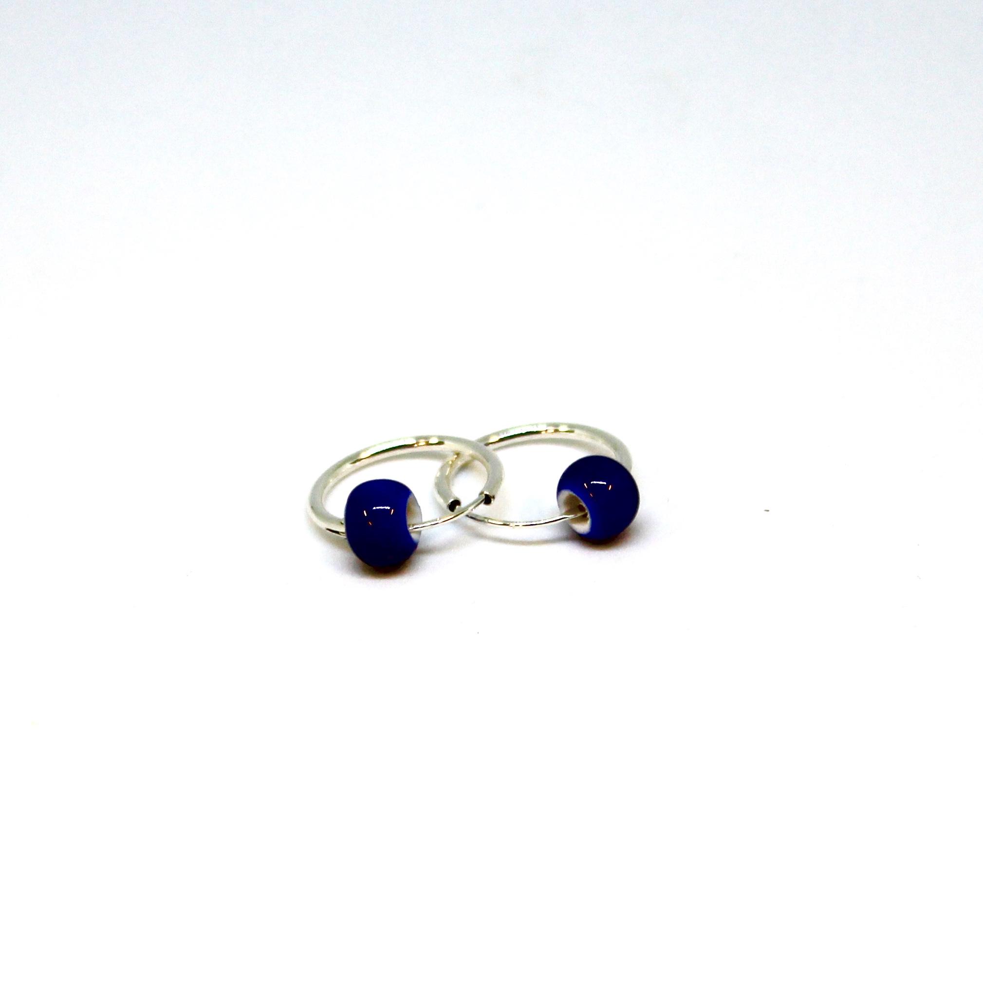 PO. 12 i koboltblå + sølv